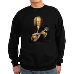 J.S. Bach on Mandolin Sweatshirt (dark)
