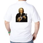 J.S. Bach on Mandolin Golf Shirt