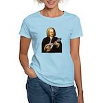 J.S. Bach on Mandolin Women's Light T-Shirt
