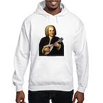 J.S. Bach on Mandolin Hooded Sweatshirt