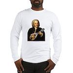 J.S. Bach on Mandolin Long Sleeve T-Shirt