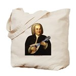 J.S. Bach on Mandolin Tote Bag