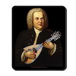 J.S. Bach on Mandolin Mousepad