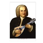 J.S. Bach on Mandolin Postcards (Package of 8)