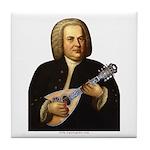 J.S. Bach on Mandolin Tile Coaster