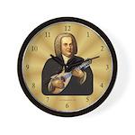 J.S. Bach on Mandolin Wall Clock