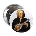 "J.S. Bach on Mandolin 2.25"" Button"
