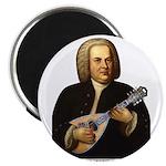 J.S. Bach on Mandolin Magnet