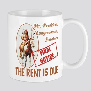 Rent is due Mug