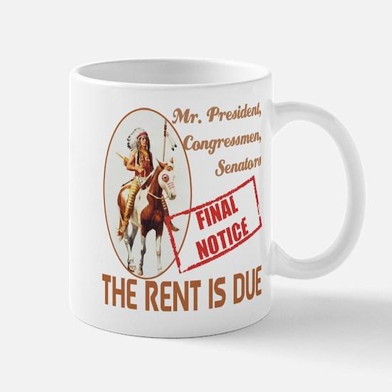 Rent is due Mug
