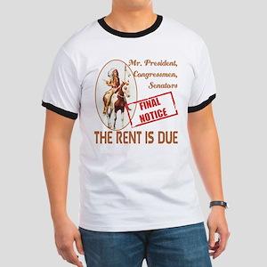 Rent is due Ringer T
