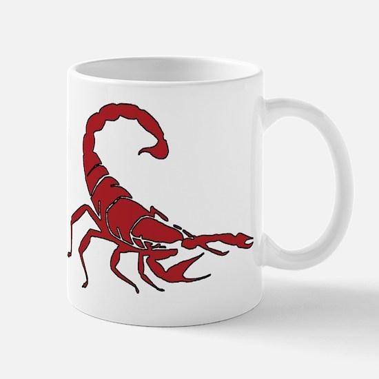 Red Scorpion Mug