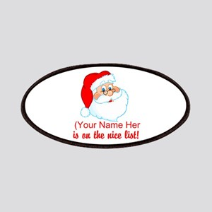 You're On The Nice List Patches