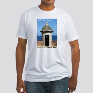 Old San Juan Fitted T-Shirt