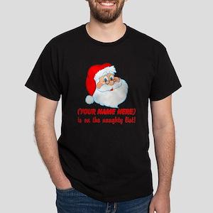 Personalized Naughty List Dark T-Shirt