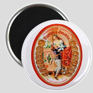 Romeo & Juliet Cigar Label Magnet