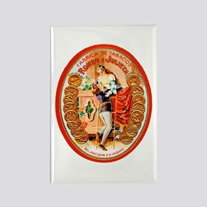Romeo & Juliet Cigar Label Rectangle Magnet