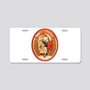 Romeo & Juliet Cigar Label Aluminum License Plate