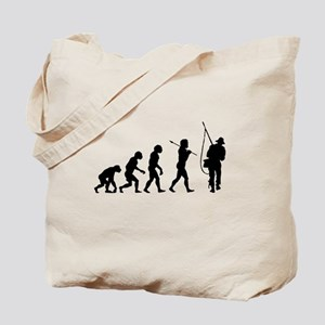 Evolved To Fish Tote Bag