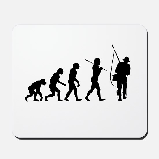 Evolved To Fish Mousepad