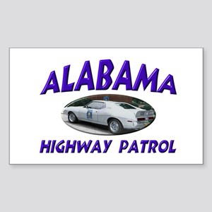 Alabama Highway Patrol Sticker (Rectangle)