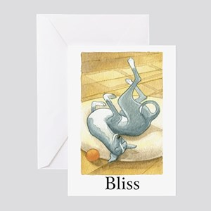 """BLISS"" (with copy) Greeting Cards (Pk of 10)"