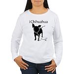 iChihuaua Women's Long Sleeve T-Shirt
