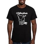 iChihuaua Men's Fitted T-Shirt (dark)