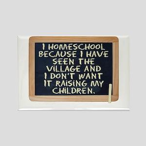 Homeschool Rectangle Magnet