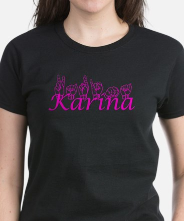 Karina Women's Dark T-Shirt