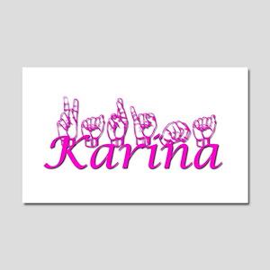 Karina Car Magnet 20 x 12
