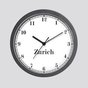 Zurich Classic Newsroom Wall Clock