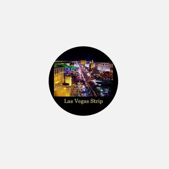Las Vegas Strip Mini Button