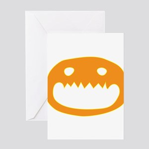 Halloween Face Greeting Card