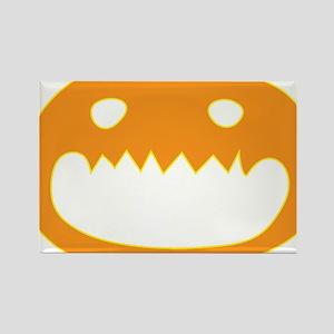 Halloween Face Rectangle Magnet
