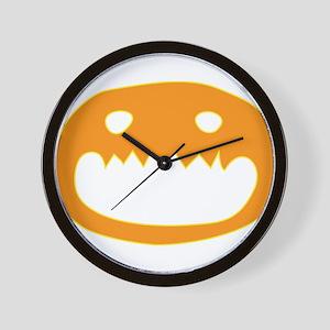 Halloween Face Wall Clock