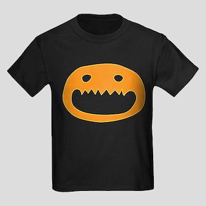 Halloween Face Kids Dark T-Shirt