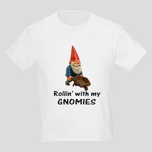 Rollin' With Gnomies Kids Light T-Shirt