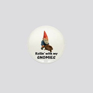 Rollin' With Gnomies Mini Button