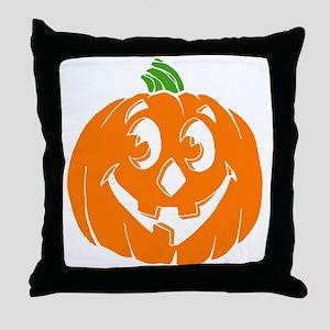 Halloween Pumpkin Throw Pillow