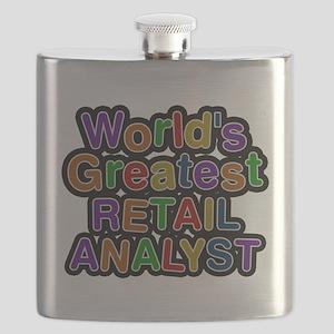 Worlds Greatest RETAIL ANALYST Flask