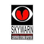 """SkyWARN """"Certified Storm Spotter"""" Window"""