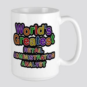 Worlds Greatest RETAIL ADMINISTRATION ANALYST Mugs