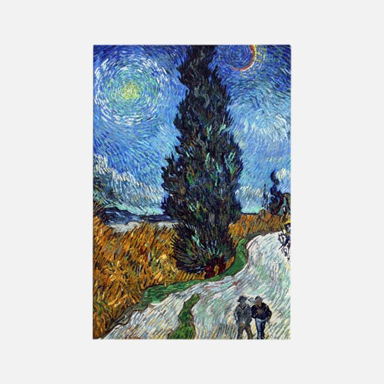 Van Gogh in Provence Rectangle Magnet