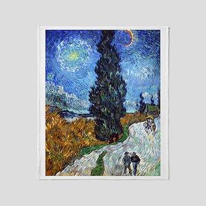 Van Gogh in Provence Throw Blanket
