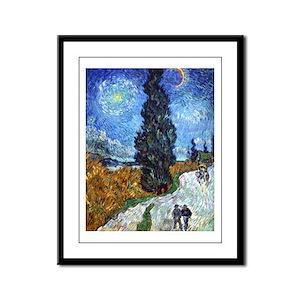 Van Gogh in Provence Framed Panel Print