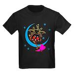 Devil cat 2 Kids Dark T-Shirt
