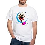Devil cat 2 White T-Shirt