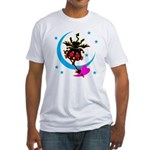 Devil cat 2 Fitted T-Shirt