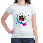 Devil cat 2 Jr. Ringer T-Shirt